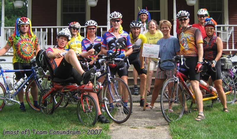 My First Ragbrai Experience July 2007